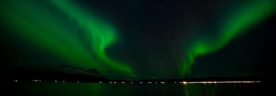 Северное сияние в РоссииУ Полярного круга можно наблюдать завораживающее северное сияние